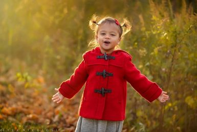 The Goyal Family's Fall Portrait Session | Long Island Children Photographer