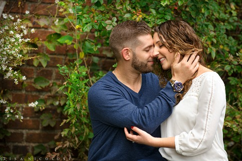 Melissa + Kevin's Romantic Long Island Fall Engagement Session at Caumsett State Park | Long Island Wedding Photographer