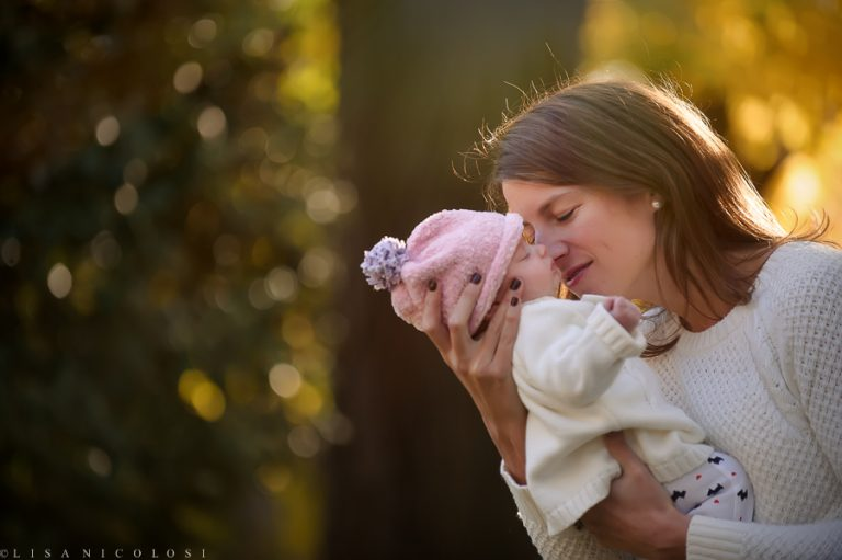 North Shore Family Portraits | Long Island Family Photographer |Six Week Old Twin Girls