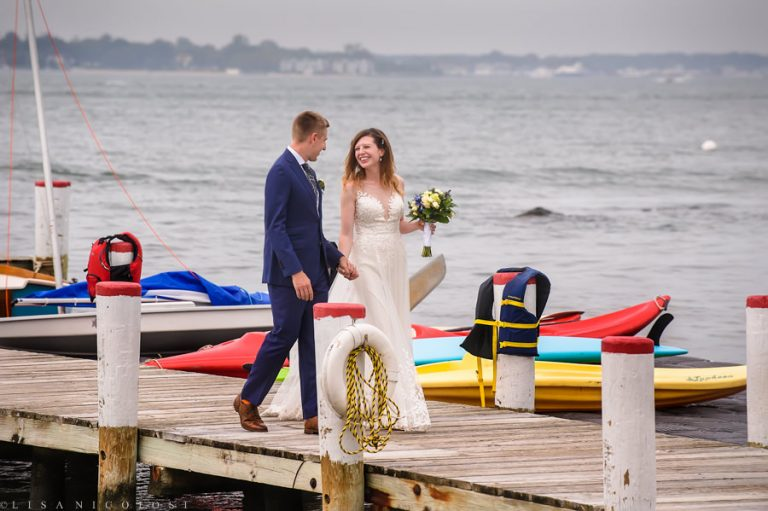 Nautical Shelter Island Wedding at The Pridwin Hotel