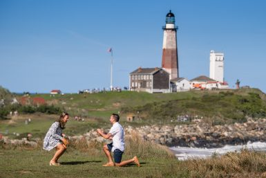 Read more about the article Montauk Proposal Photographer
